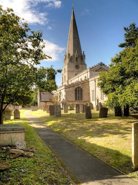 The Parish Church of St Mary, Edwinstowe