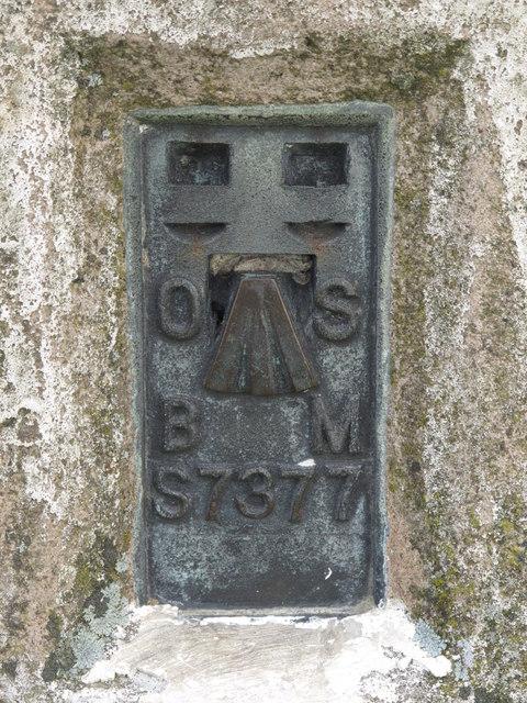 OSBM flush bracket on the trig point on Blakeman's Law