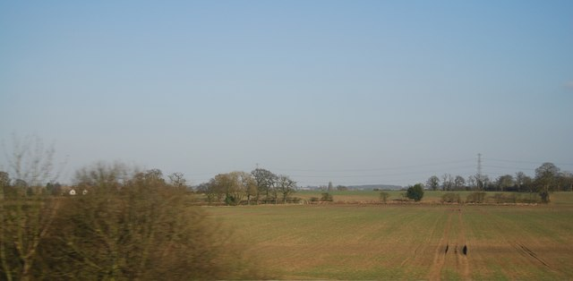 Farmland in the Tame Valley