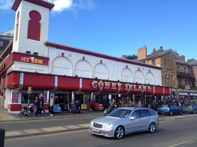 Amusement arcade, Scarborough