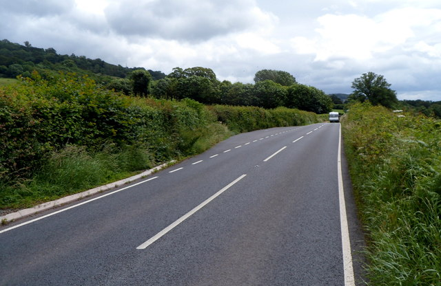 A479 layby SE of Tretower