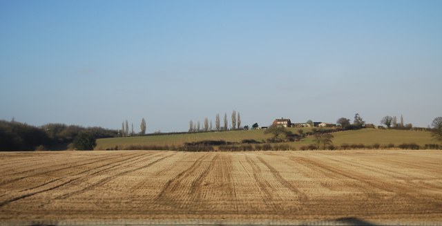 Farmland on the edge of Lichfield