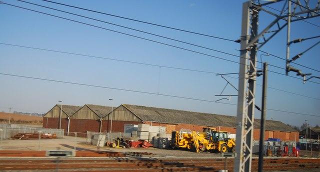 Warehouses near Lichfield Junction