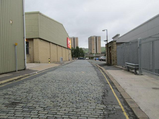 Bedford Street North - looking towards Pellon Lane