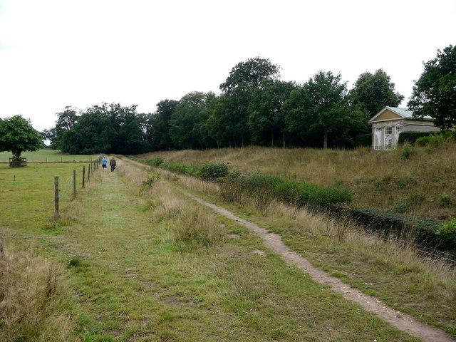 Path around the Blickling Estate