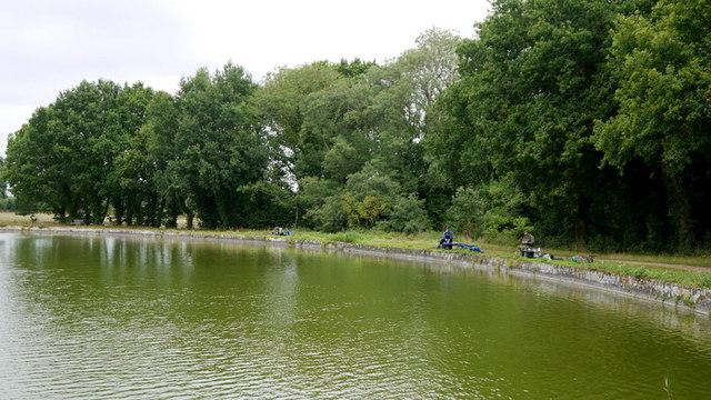 Anglers at Blickling Lake