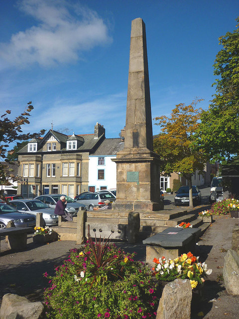 The King George III obelisk, Broughton-in-Furness