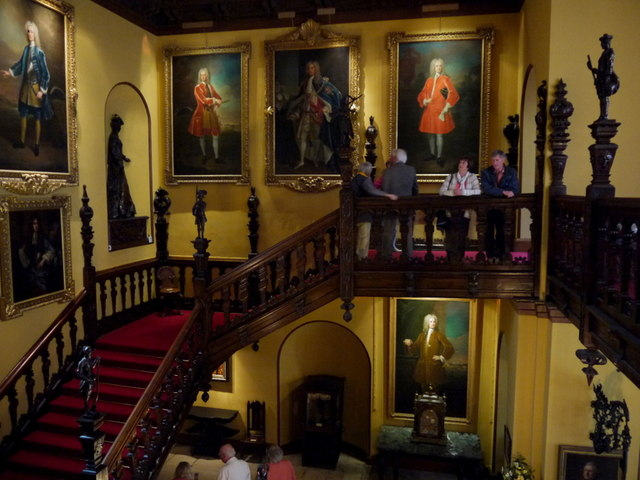 Grand staircase, Blickling Hall