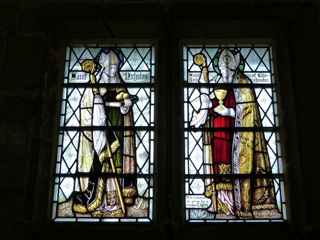 SS Nicholas and Richard of Chichester window