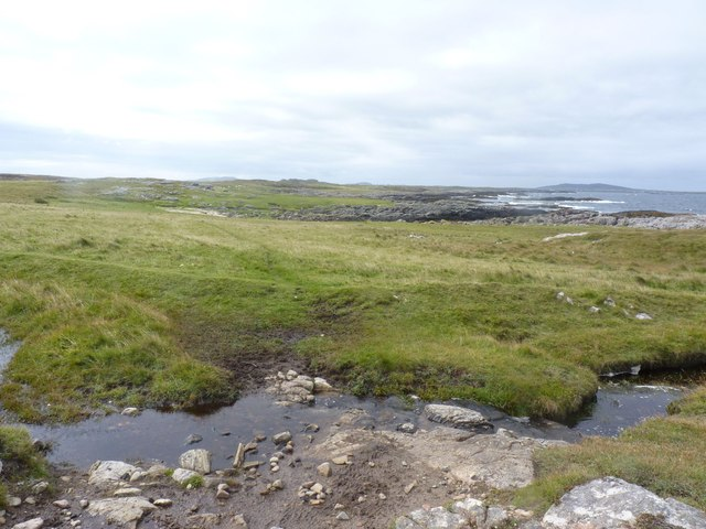 Burn near Creagan Mora, Tiree