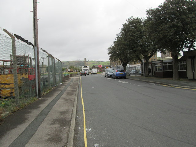 Hope Street - looking towards Hanson Lane