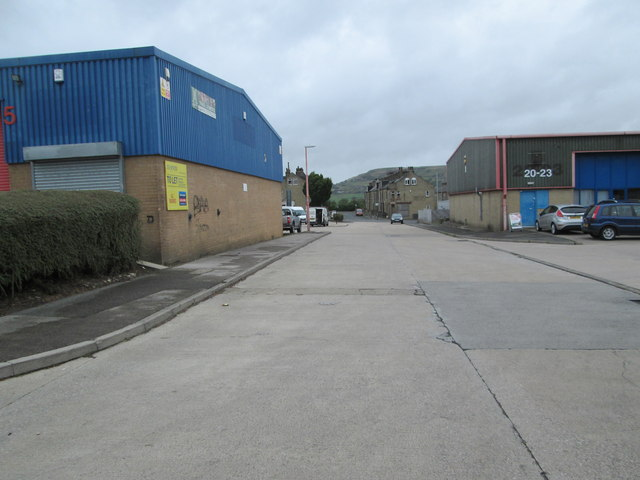 Marshway - looking towards Pellon Lane