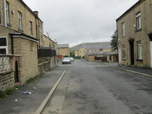 Howard Street - looking towards Pellon Lane