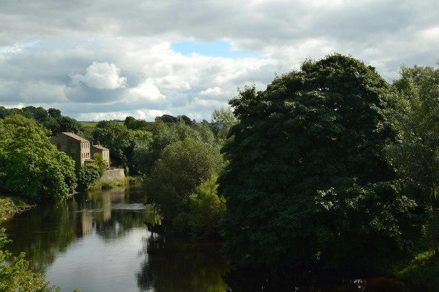 Houses on the River Wharfe