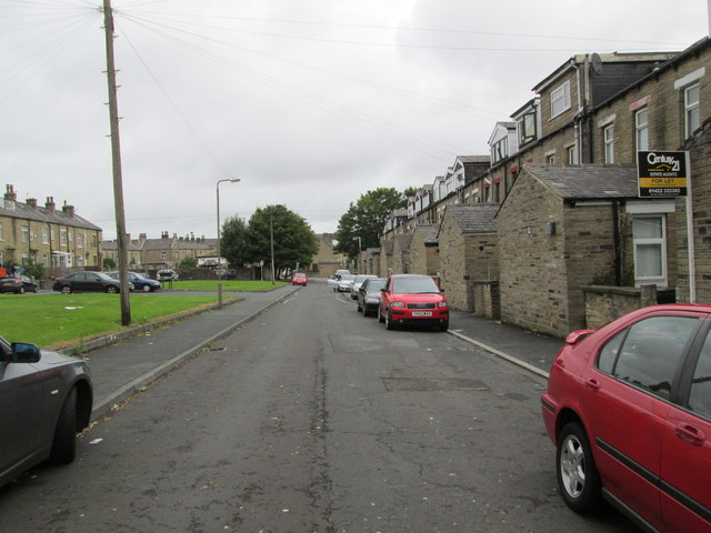 Violet Street North - looking towards Pellon Lane