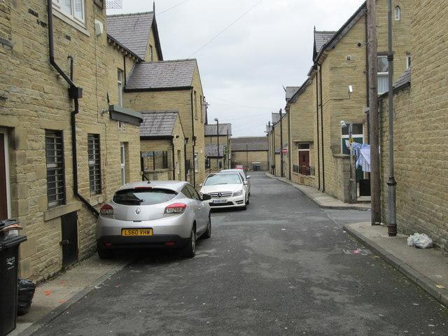 Heywood Place - Gladstone Street