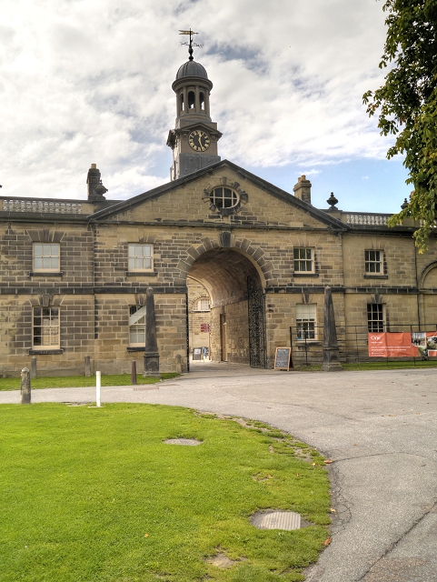 Stables Entrance, Nostell Priory