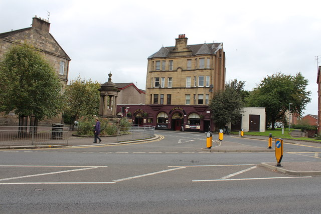 Junction at Neilston Road & Calside, Paisley
