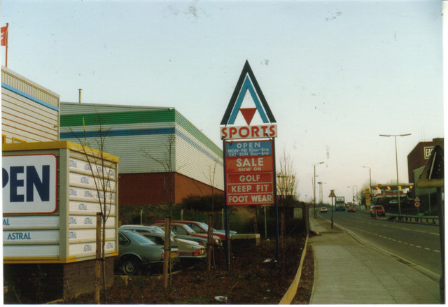 Astral Sports on Edgware Road, c1990