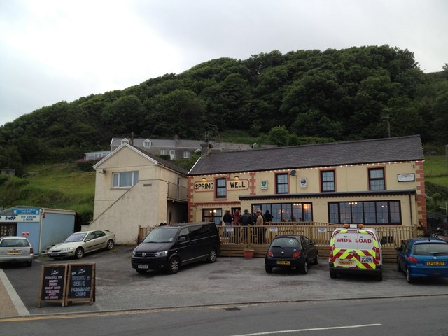 Spring Well public house, Pendine