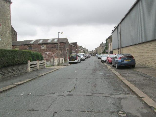 Walnut Street - looking towards Hopwood Lane
