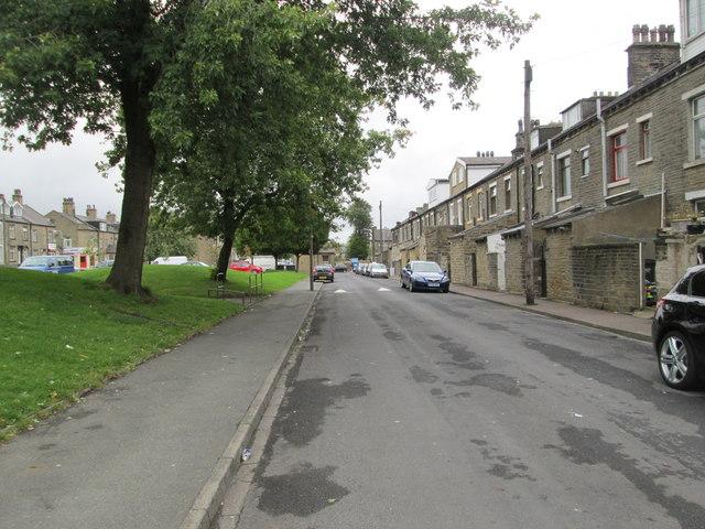 Bentley Street - looking towards Hopwood Lane