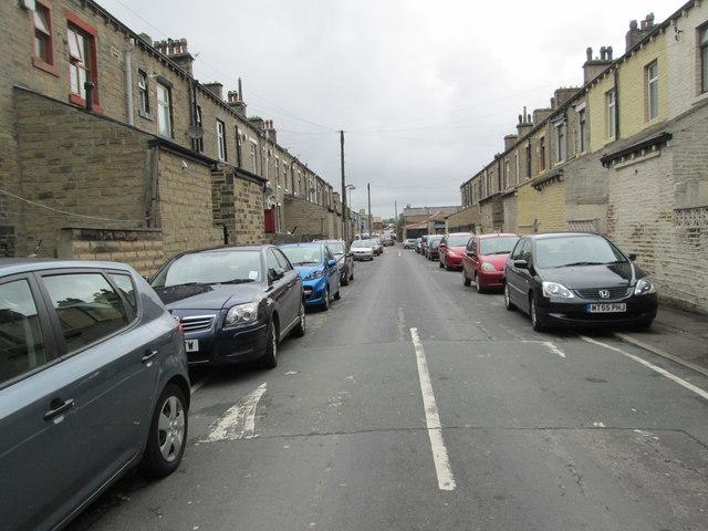 Frank Street - looking towards Hopwood Lane
