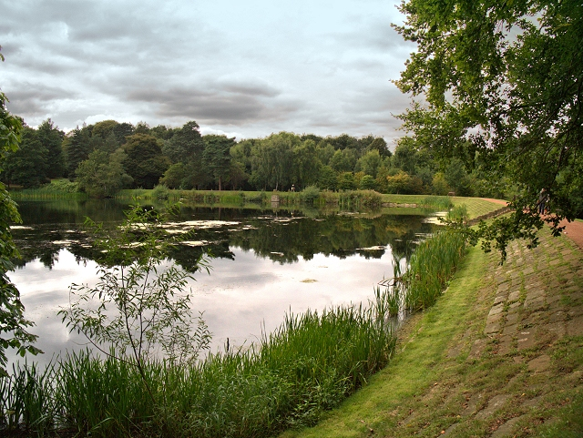 Nostell Priory Middle Lake