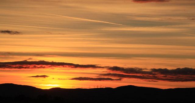 Sunset at Kirkness