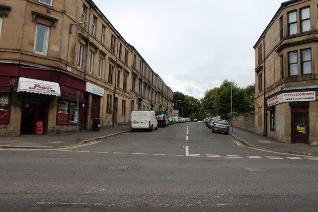 Braids Road, Paisley