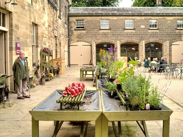 National Trust Sales Area, Nostell Priory Courtyard