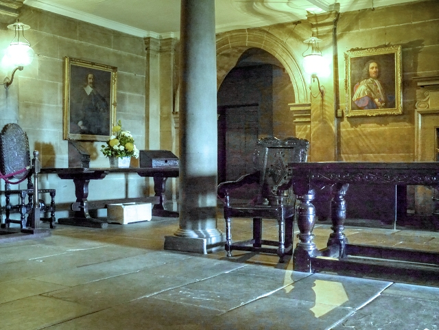 Lower Hall, Nostell Priory