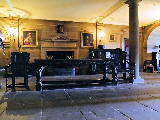 Nostell Priory, Hallway