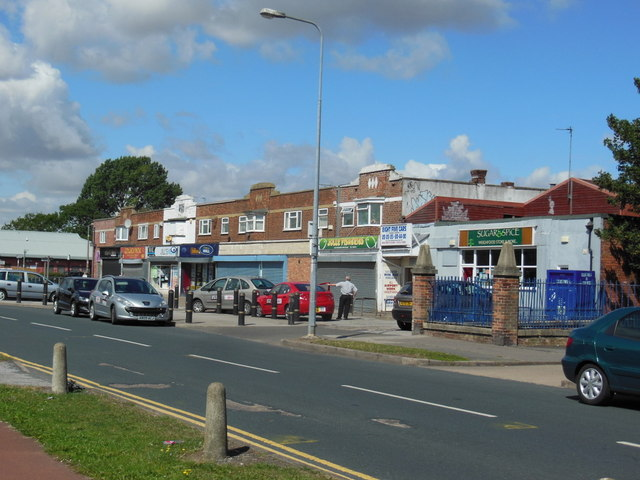 Shops on Orchard Park Road, Hull
