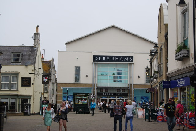 Debenhams, Weymouth
