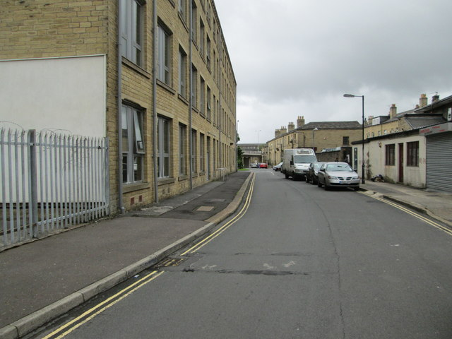 New Bond Street - looking towards Hopwood Lane