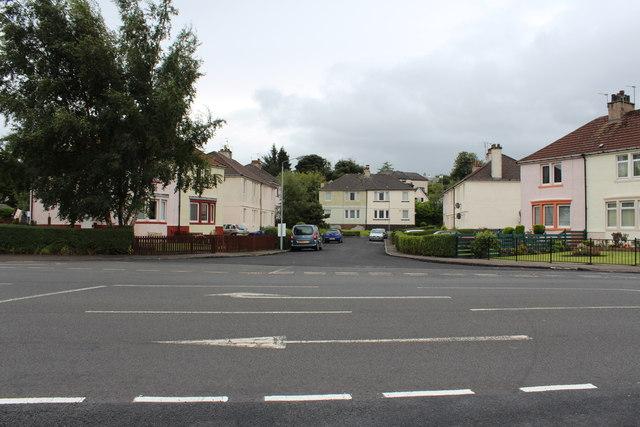Cul-De-Sac off Lochfield Road, Paisley