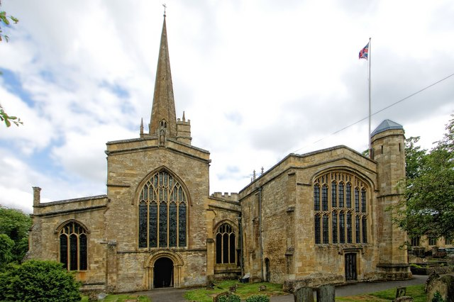 The Church of St John the Baptist, Burford