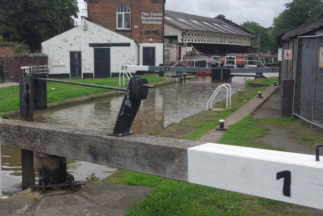 Lock no 1, Dee Branch, Shropshire Union Canal