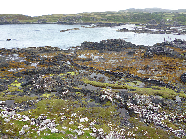 Foreshore at Kilmory