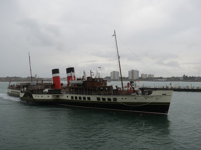 P. S. Waverley  Portsmouth  Harbour
