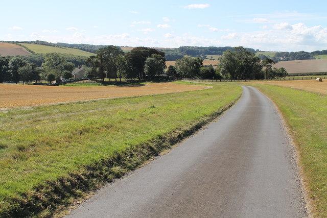 Lane down to Farforth