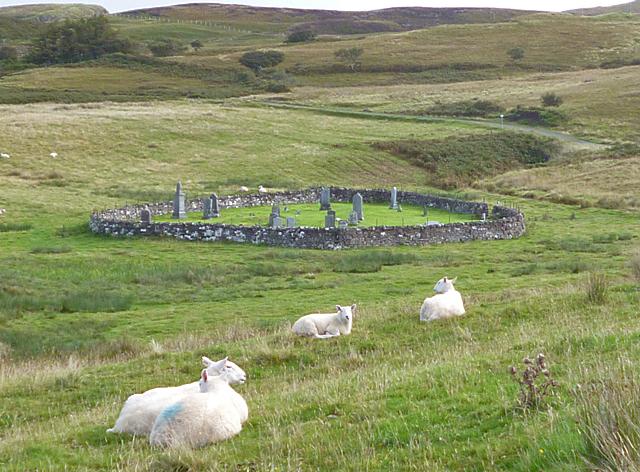 Kilmory Graveyard