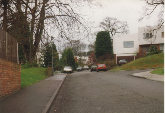 Lord Chancellor Walk, Coombe c1992