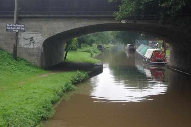 Beeston Brook Bridge, Shropshire Union Canal