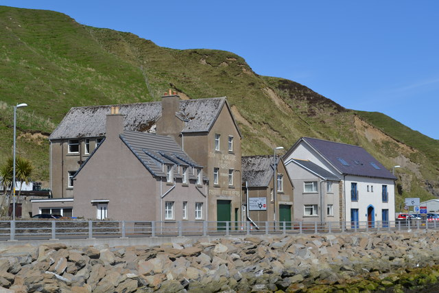 Buildings on the Harbour Access Road, Scrabster Harbour, Scrabster - 2