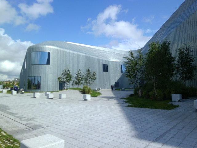 Riverside Museum, western elevation