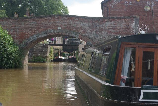 Bunbury Lock Bridge, Shropshire Union Canal