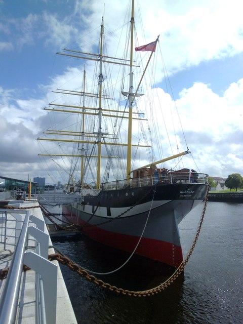 Glasgow's tall ship