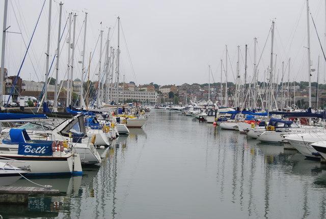 Berths, Weymouth Marina